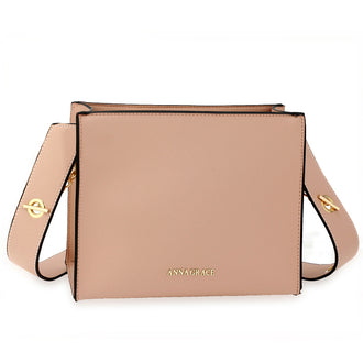Anna Grace Nude Fashion Bag