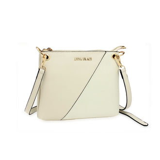 Anna Grace Beige Cross Body Bag