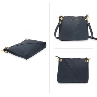Anna Grace Navy Cross Body Bag