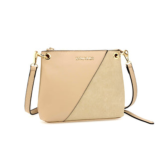 Anna Grace Nude Cross Body Bag