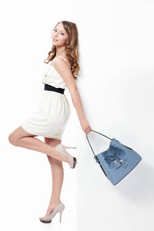 3 Pieces Set Blue Women's Fashion Handbags