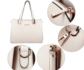 Beige Women's Fashion Handbag
