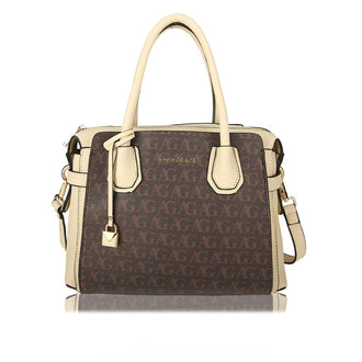 Coffee Anna Grace Print Women's Fashion Tote Bag