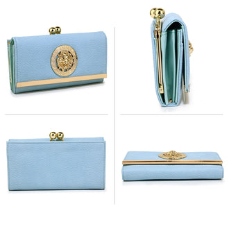 Leoar Sky Blue Purse