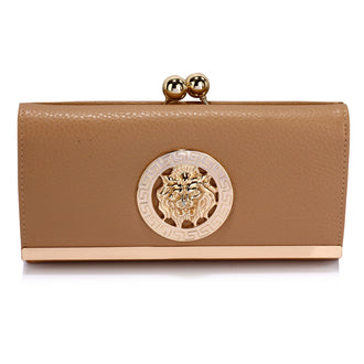 Leoar Nude Purse