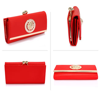 Leoar Red Purse