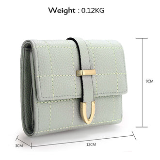 Allexaa Green Purse