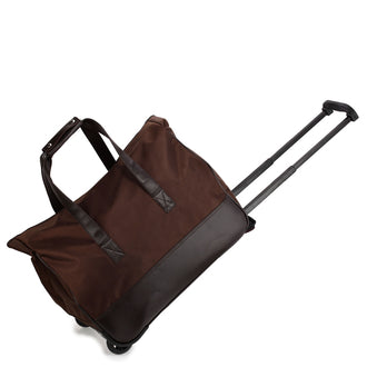 Coffee Travel Holdall Trolley Luggage With Wheels