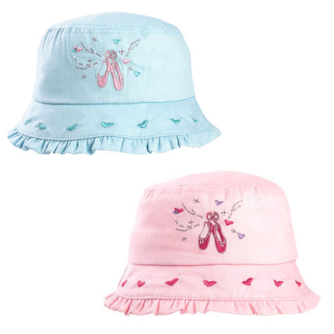 Girls Ballerina Bush Hat