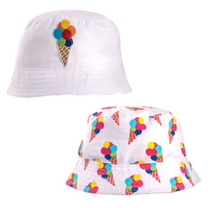 Kids Ice Cream Bush Hat