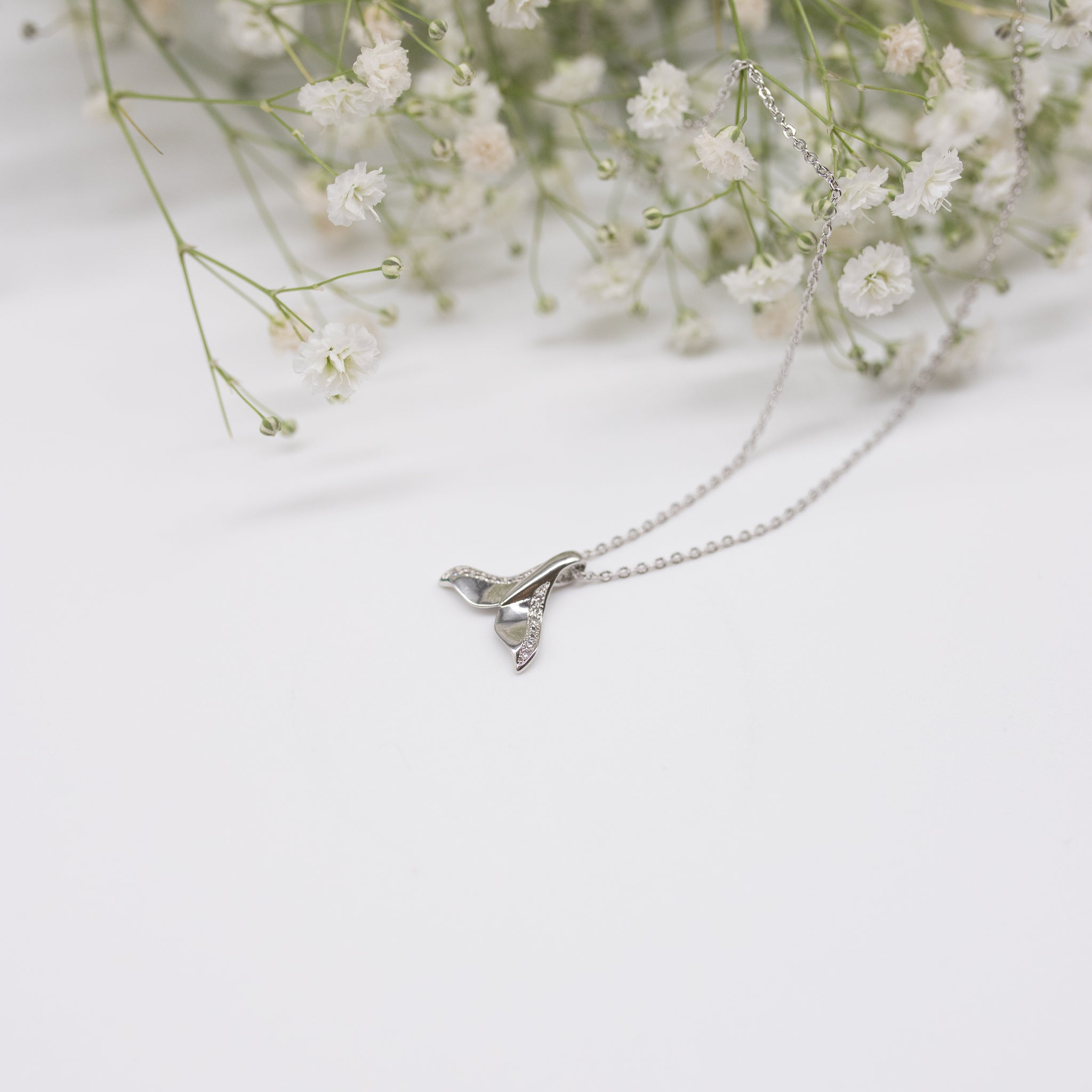 "Unique ""Angel"" Silver Plated Necklace"