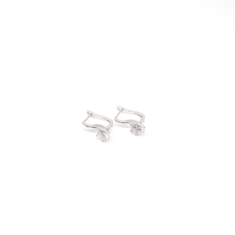"Unique ""Alani"" Silver Plated Earring"