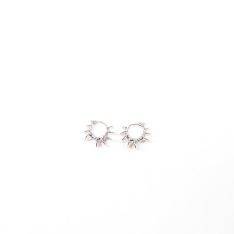 "Unique ""Achi"" Silver Plated Earring"