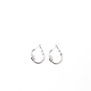 "Unique ""Avery"" Silver Plated Earring"