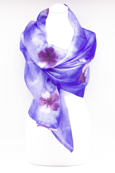 "Unique "" ALMIRA"" Handmade Daily Silk Scarf"