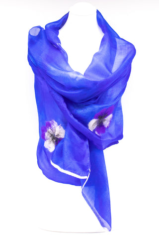 "Unique ""ADEOLLA"" Handmade Daily Silk Scarf"