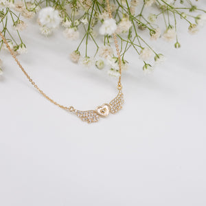 "Unique ""Abigail"" Gold Plated Necklace"