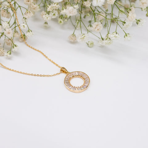 "Unique ""Amira"" Gold Plated Necklace"
