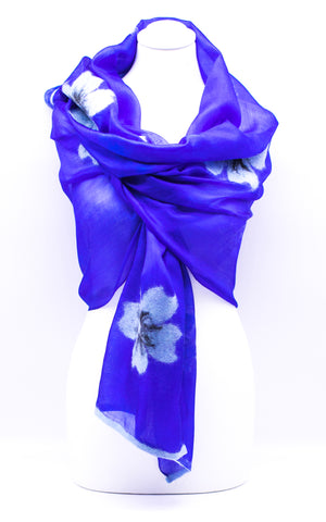 "Unique""ALAINA"" Handmade Daily Silk Scarf"