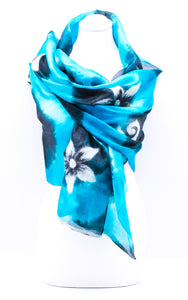 "Unique ""ADA"" Handmade Daily Silk Scarf"