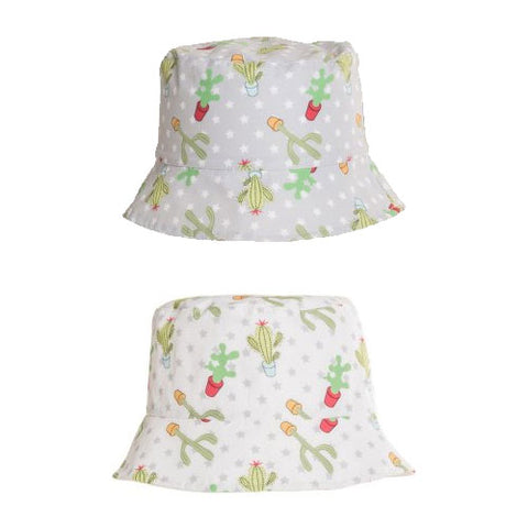 Kids Unisex Cactus Print Bush Hat