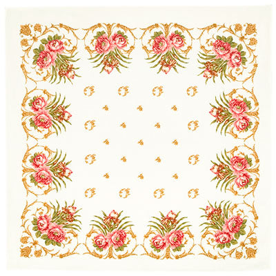 "Cotton Tablecloth "" SPRING AWAKENING """