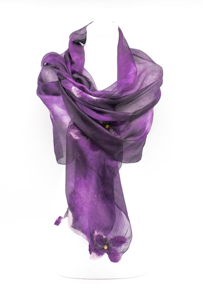 "Unique ""  MIA "" Handmade Daily Silk Scarf"