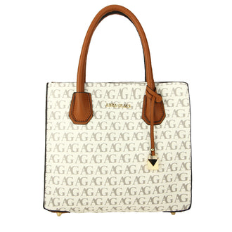 White Anna Grace Print Women's Fashion Handbag