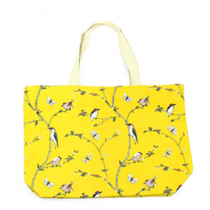 Woodpecker Print Beach Bag