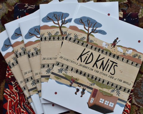 KidKnits Coloring Book and Crayons