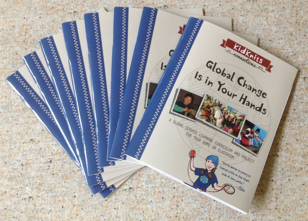 Global Change is in Your Hands - KidKnits workbook