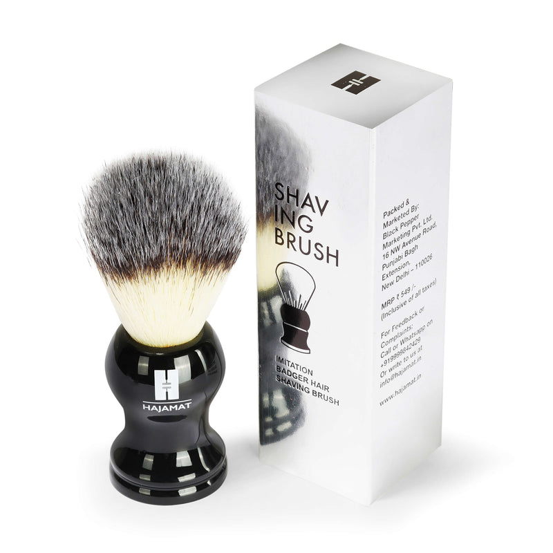 Luxurious Black Shaving Brush
