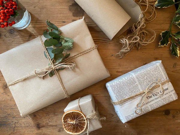 DIY Sustainable Gift Wrapping Ideas