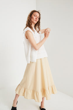 Poppy Skirt - Warm Beige