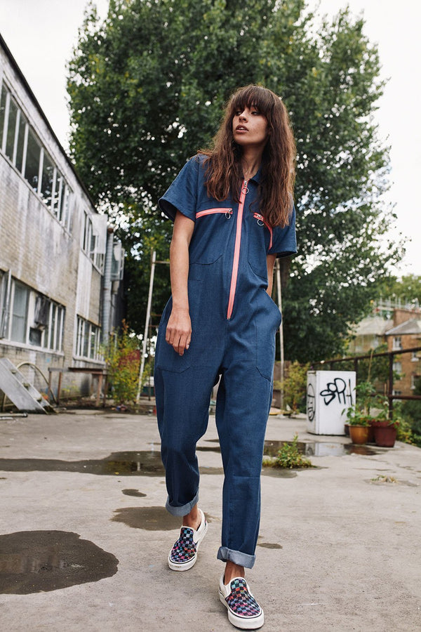 Aster organic cotton boiler suit