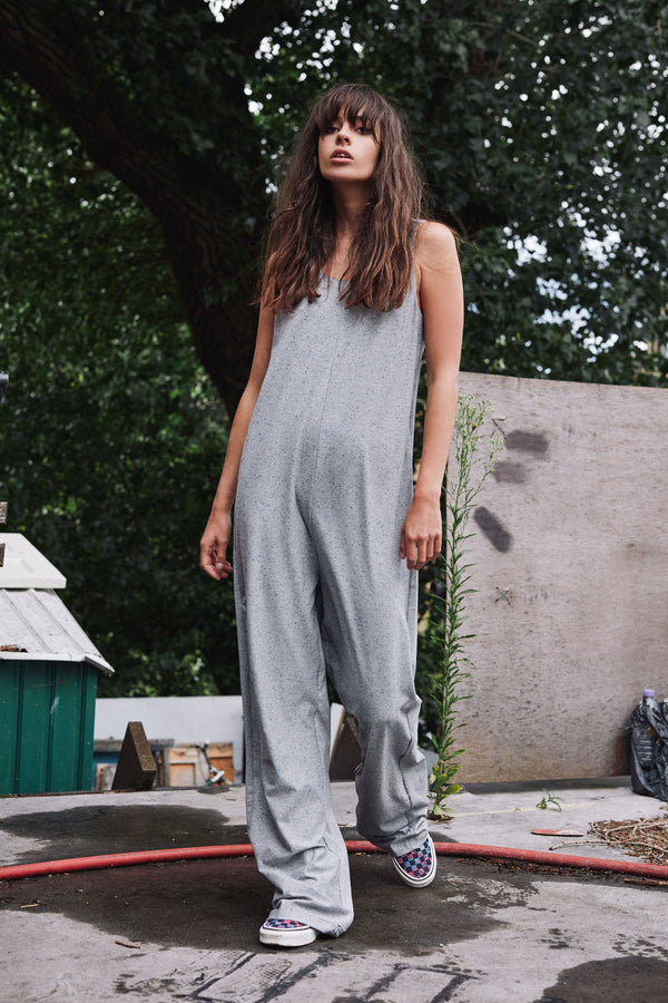 Sputnik organic cotton and tencel jumpsuit