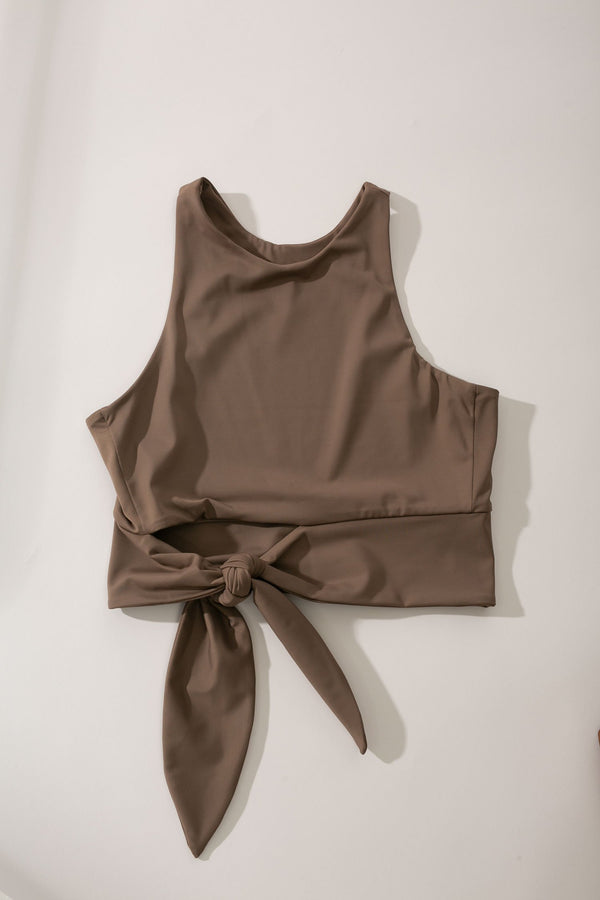 Yaz Active Top Taupe