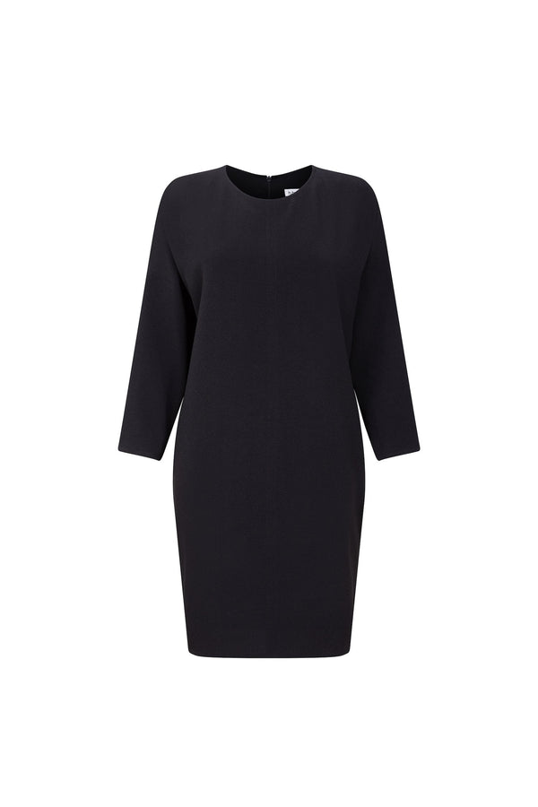 Dropped Sleeve Cocoon Dress