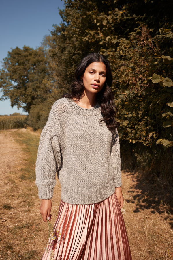 Chunky Handknit Sweater