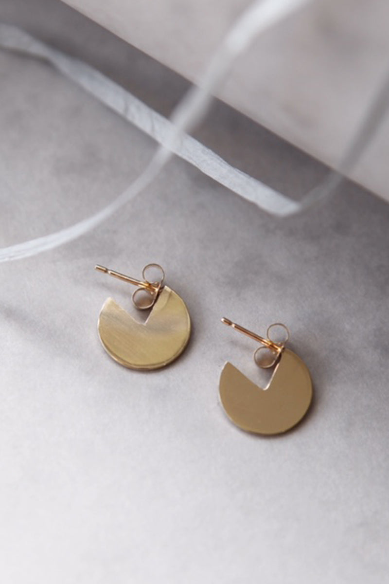 Aluna Earrings - Gold