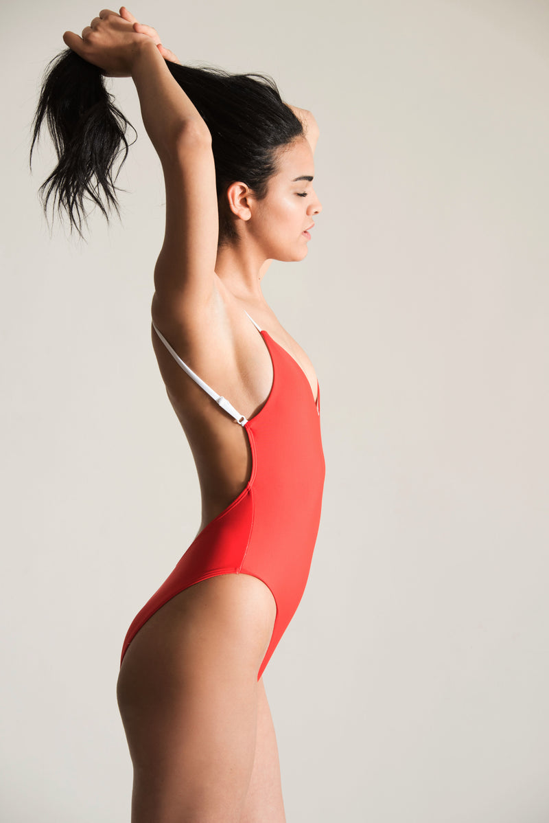 Ariana Swimsuit - Red