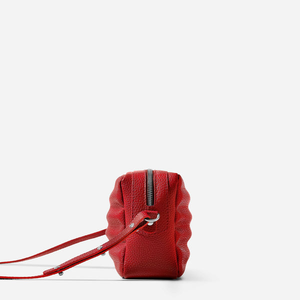 Ridley Crossbody Bag - Red