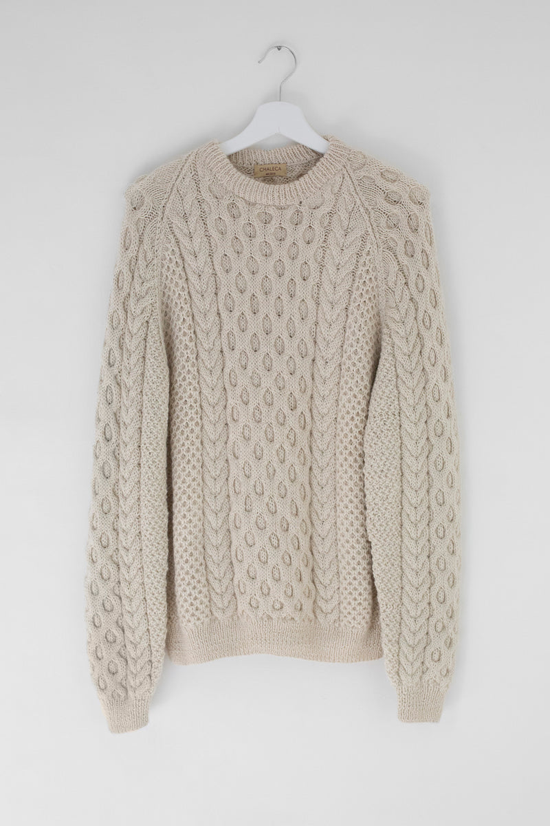 Tormenta Cable Knit Sweater