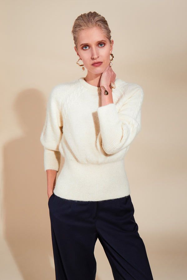 Fair Cream Jumper