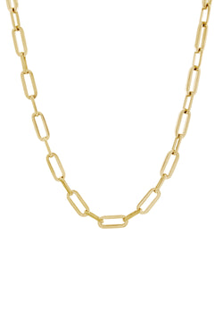 Suitor Chain Necklace. Gold Vermeil.
