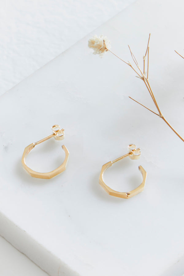 Otto Hoop Earrings Small