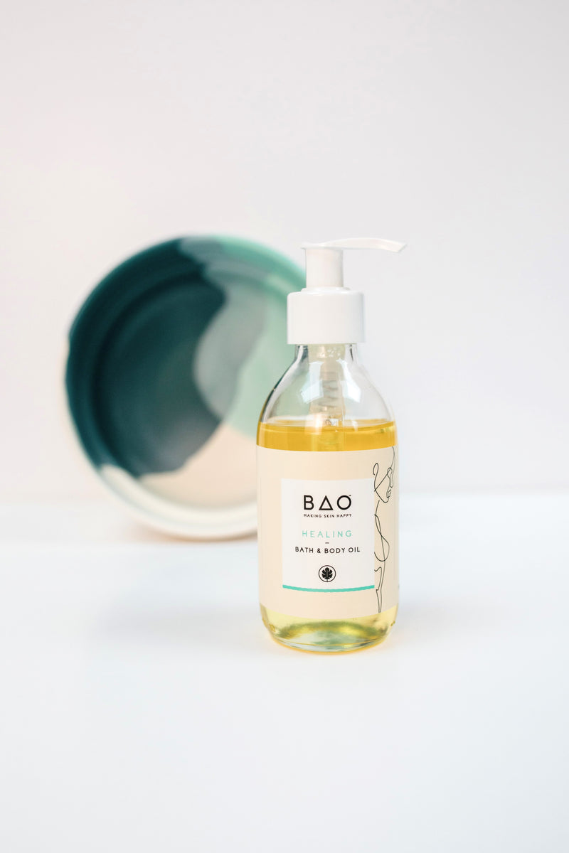 Healing Bath and Body Oil