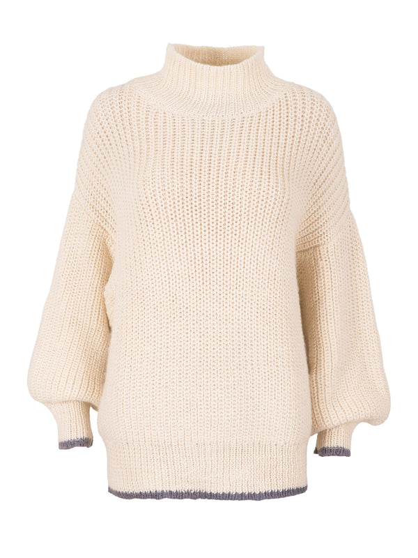 Coarse Knit Sweater 'Natural'