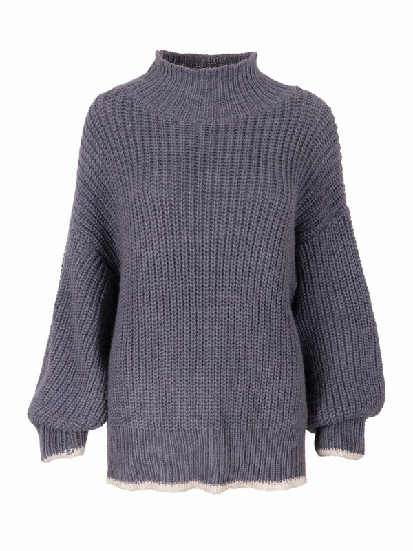 Coarse Knit Sweater 'Indigo'