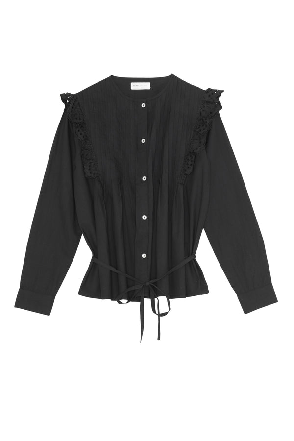 Holly Shirt Black